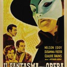 Locandina italiana del film Il Fantasma dell'Opera (1943)