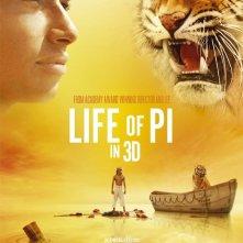 Vita di Pi: un nuovo suggestivo poster del nuovo film di Ang Lee