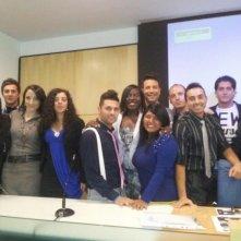 Columns: il cast alla conferenza stampa di presentazione della serie