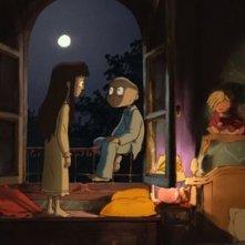 Le jour des corneilles: una immagine del film d'animazione