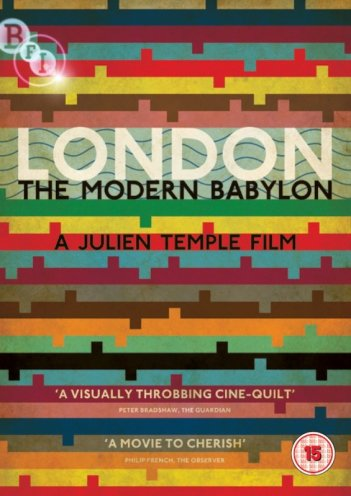 London - The Modern Babylon: la locandina del film