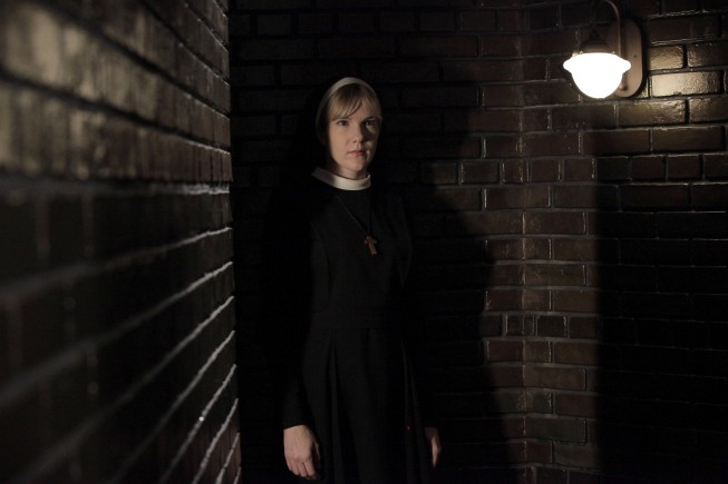Lily Rabe in American Horror Story - Asylum, episodio Nor'easter