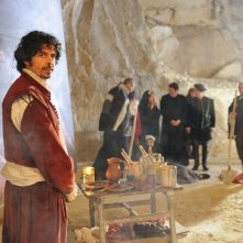 Un milione di giorni: Luchino Giordana nei panni del Caravaggio in una scena