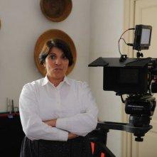 Un milione di giorni: Lucia Sardo, la Governante, sul set del film