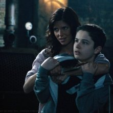 Cindy Sampson e Nicholas Elia nell'episodio Let It Bleed della sesta stagione di Supernatural