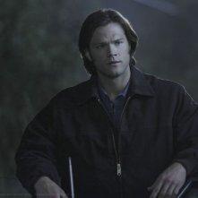 Jared Padalecki in una scena dell'episodio Family Matters della sesta stagione di Supernatural