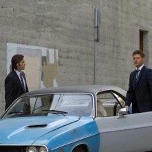 Jensen Ackles e Jared Padalecki in una scena dell'episodio The Mentalists della settima stagione di Supernatural
