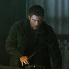 Jensen Ackles in una scena dell'episodio Live Free or Twi-hard della sesta stagione di Supernatural