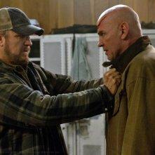 Jim Beaver e Mitch Pileggi in una scena dell'episodio E poi non rimase nessuno della sesta stagione di Supernatural