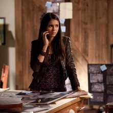 Nina Dobrev in un momento dell'episodio Persone Comuni della terza stagione di The Vampire Diaries