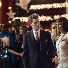 Paul Wesley e Nina Dobrev in una scena dell'episodio Non farlo dolcemente della terza stagione di The Vampire Diaries