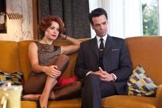 Populaire: Romain Duris e Bérénice Bejo in una scena