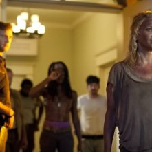 The Walking Dead: Laurie Holden, David Morrissey e Danai Gurira nell'episodio Benvenuti a Woodbury