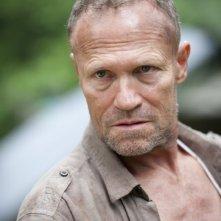 The Walking Dead: Michael Rooker è Merle Dixon nell'episodio Benvenuti a Woodbury