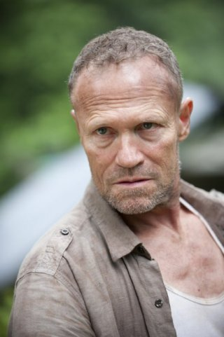 The Walking Dead: Michael Rooker è Merle Dixon nell'episodio Benvenuti a Woodbury