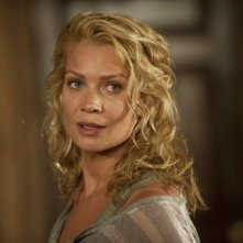 The Walking Dead: un primo piano di Laurie Holden nell'episodio Benvenuti a Woodbury