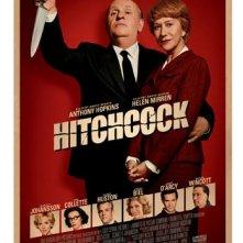 Hitchcock: ancora una nuova curiosa locandina del biopic