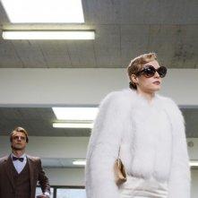 Il volto di un'altra: Laura Chiatti con Alessandro Preziosi in una scena del film