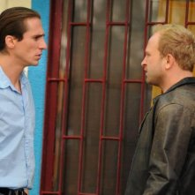Ixjana: Borys Szyc e Sambor Czarnota sul set del film