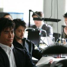 Lessons of Evil: Hideaki Itô e Takayuki Yamada in una scena del film