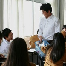 Lessons of Evil: Hideaki Itô in una scena con i suoi studenti