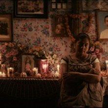 Mai morire: Margarita Saldaña, protagonista del film, in una scena