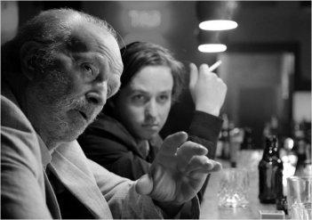 Oh Boy!: Michael Gwisdek, Tom Schilling in una scena