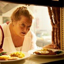 Omamamia: Marianne Sägebrecht in una scena del film tedesco