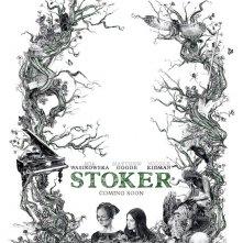 Stoker: un raffinato teaser poster