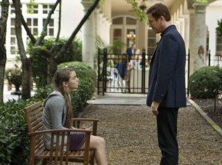 Damian Lewis e Morgan Saylor in una scena dell'episodio The Clearing della serie TV Homeland