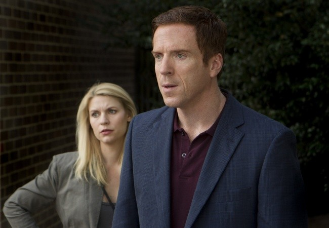 Damian Lewis e Claire Danes in una foto dell'episodio The Clearing della serie TV Homeland