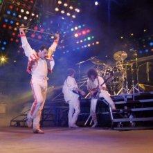 Hungarian Rhapsody: Queen Live in Budapest, un'immagine tratta dal film evento sullo storico concerto dei Queen
