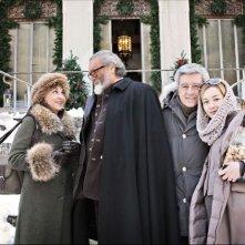 Il peggior Natale della mia vita: Anna Bonaiuto, Diego Abatantuono, Antonio Catania e Cristiana Capotondi in una scena