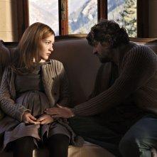 Il peggior Natale della mia vita: Cristiana Capotondi e Fabio De Luigi in una scena del film