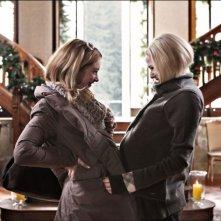 Il peggior Natale della mia vita: Laura Chiatti e Cristiana Capotondi in una scena del film
