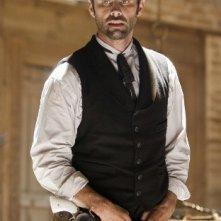Il pistolero Walton Goggins in una scena di Django Unchained