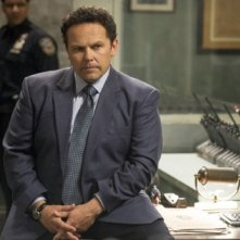 Kevin Chapman in una scena dell'episodio Bury the Lede della serie TV Person of Interest