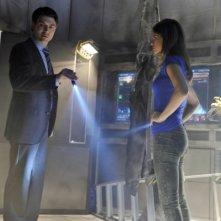Noah Beah e Lyndsy Fonseca in una scena dell'episodio The Sword's Edge della serie televisiva Nikita
