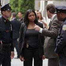 Taraji P. Henson in una scena dell'episodio Triggerman della serie TV Person of Interest
