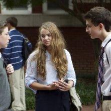 Timothée Chalamet e Morgan Saylor in una foto dell'episodio Q&A della seconda stagione di Homeland