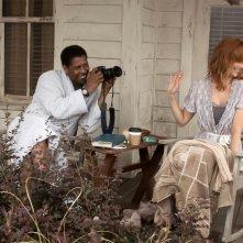 Flight: Denzel Washington con  Kelly Reilly in una scena del film