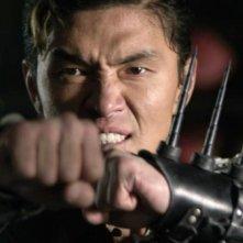 L'uomo con i pugni di ferro: Rick Yune in una scena