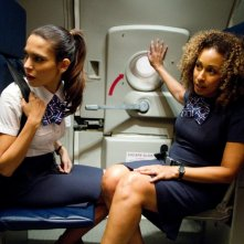 Nadine Velazquez e Tamara Tunie in Flight, del 2012