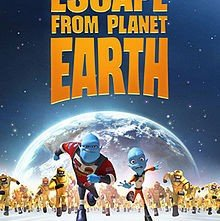 Escape from Planet Earth: la locandina del film