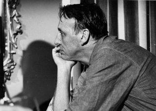 Joseph Losey in una foto sul set