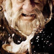 Lo Hobbit - Un viaggio inaspettato: character poster di Mark Hadlow, alias Dori
