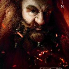 Lo Hobbit - Un viaggio inaspettato: character poster di Peter Hambleton, alias Gloin