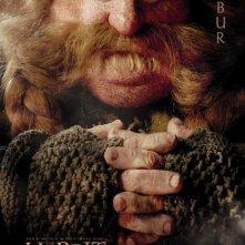 Lo Hobbit - Un viaggio inaspettato: character poster di Stephen Hunter, alias Bombur