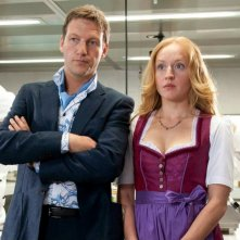 Brigitte Hobmeier con Thomas Unger nella commedia tedesca Was machen Frauen morgens um halb vier?