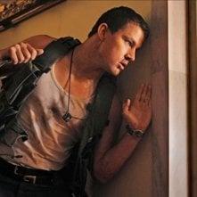 Channing Tatum ferito in una scena di White House Down